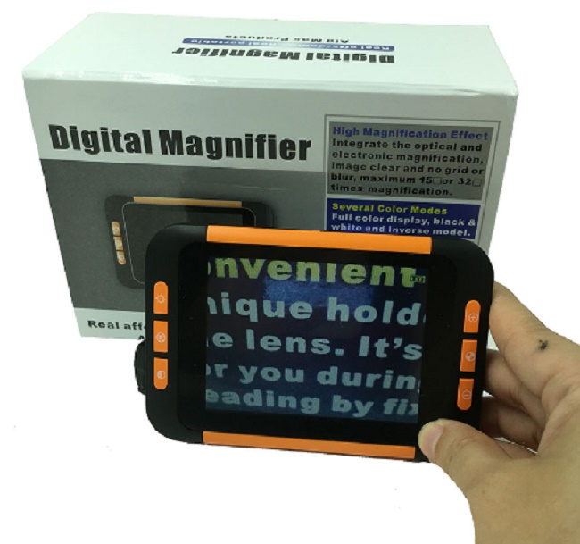 3 5 Quot Elelctronic Magnifier Low Vision Magnifiers Nz