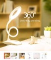 LED Ring Lamp with Clip Clamp