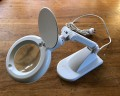 Desk Top LED illuminated Stand Magnifier